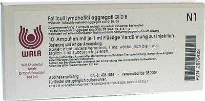 FOLLICULI LYMPHATICI aggregati GL D 8 Ampullen