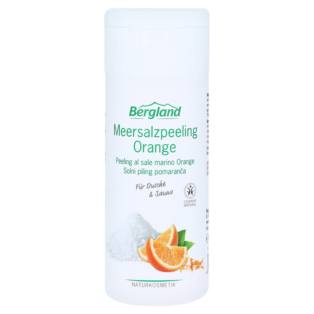 Meersalzpeeling Orange 220 g