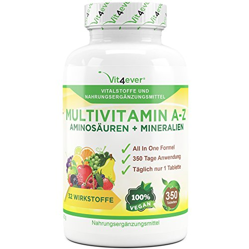 Multivitamin A-Z - 350 Tabletten