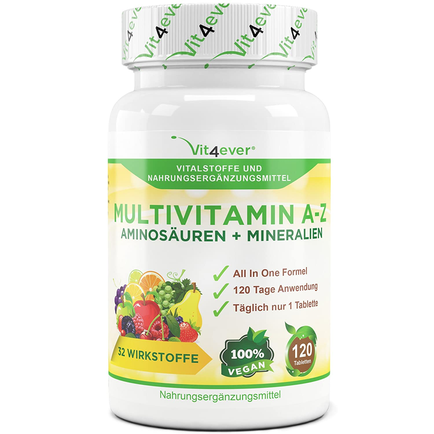 Multivitamin A-Z - 120 Tabletten