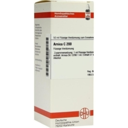 ARNICA C 200 Dilution 50 ml