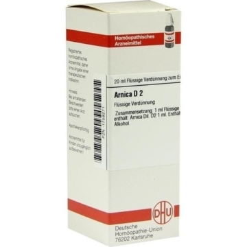 ARNICA D 2 Dilution 20 ml