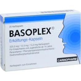 BASOPLEX Erkältungs-Kapseln 20 St.