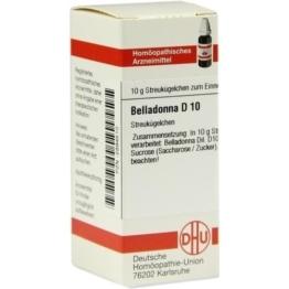BELLADONNA D 10 Globuli 10 g