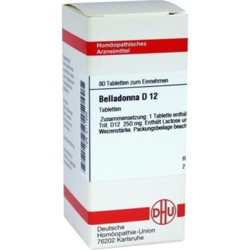 BELLADONNA D 12 Tabletten 80 St.