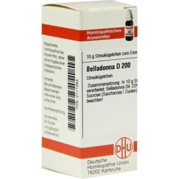 BELLADONNA D 200 Globuli 10 g