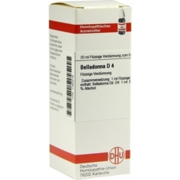 BELLADONNA D 4 Dilution 20 ml