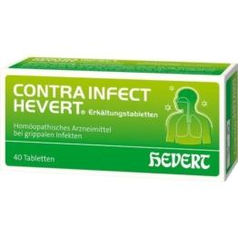 CONTRAINFECT Hevert Erkältungstabletten 40 St.