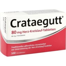 CRATAEGUTT 80 mg Herz-Kreislauf-Tabletten 100 St.