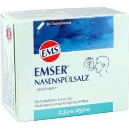 EMSER Nasenspülsalz physiologisch Btl. 20 St.