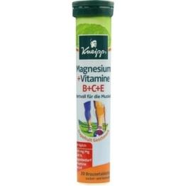 KNEIPP Magnesium+Vitamine Brausetabletten 20 St.