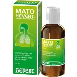 MATO Hevert Erkältungstropfen 50 ml