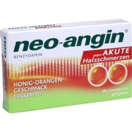 NEO ANGIN Benzydamin akute Halsschmerz.Honig-Oran. 20 St.
