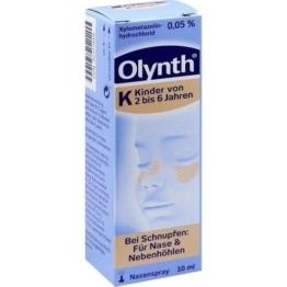 OLYNTH 0,05% für Kinder Nasendosierspray 10 ml