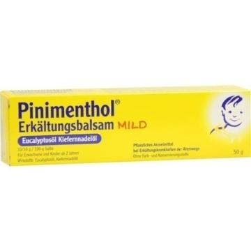 PINIMENTHOL Erkältungsbalsam mild 50 g