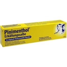 PINIMENTHOL Erkältungssalbe Eucal./Kiefern./Menth. 100 g