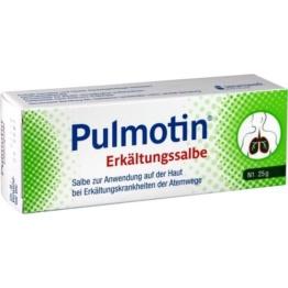 PULMOTIN Erkältungssalbe 25 g