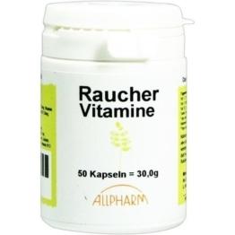 RAUCHER VITAMINE Kapseln 50 St.