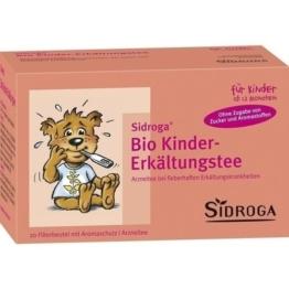 SIDROGA Bio Kinder-Erkältungstee Filterbeutel 20 St.