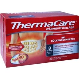 THERMACARE Rückenumschläge S-XL z.Schmerzlind. 4 St.
