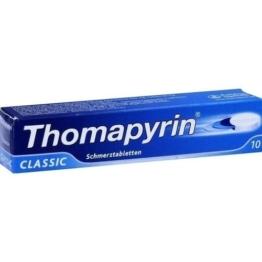 THOMAPYRIN CLASSIC Schmerztabletten 10 St.