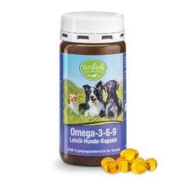 tierlieb Omega-3-6-9-Leinöl-Hunde-Kapseln